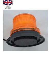 24V LED THREE BOLT FLASHING BEACON FOR PLANT AND AGRICULTURAL USE TRACTOR TRUCK