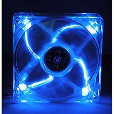 Masscool BLD-09025S1M 92mm 3 & 4pin 4-Blue LED Case Fan Power Supply Fan