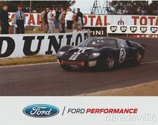 2016 Ford Performance '66 Ford GT40 24 Hours of Le Mans SEMA Show postcard
