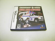Emergency Room: Real Life Rescues (Nintendo DS, 2009)