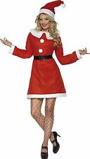 Smiffy's miss santa costume père noël déguisements costume-medium