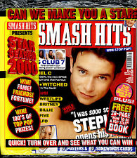 SMASH HITS 1999 BILLIE BRITNEY EDELE KEAVY B*WITCHED MEL C STEPHEN GATELY LFO