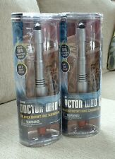 2 DOCTOR WHO The Other Doctor's Sonic Screwdriver BRAND NEW - Light Sound!