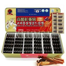Korean Red Ginseng Extract Gold Capsules 99.6g(830mg x 120capsule) panax ginseng
