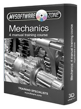 Mechanic Mechanics Tools Car Training Book Course CD