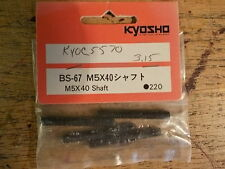 BS-67 M5x40 Shafts - Kyosho Burns Inferno Landmax Porsche 959 GP-20