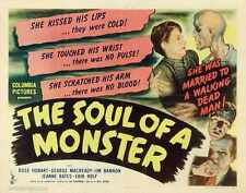 Soul Of Monster Poster 02 Metal Sign A4 12x8 Aluminium