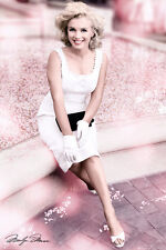 MARILYN MONROE - PLAZA HOTEL BLOSSOM POSTER - 24x36 SEXY PIN UP 34062