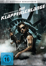 Die Klapperschlange-Digital Remastered John Carpenters DvD Neu+in Folie #2000