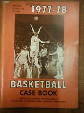 1977-78 National Federation Edition Basketball Case Book State High School1229SM