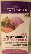 (New) New Chapter Every Woman's One Daily 40+ Multivitamin 48 Tablets