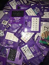 LOT 200 Nailene Nail Art Stickers Fingers & Toes NEW Rhinestones Gems Wholesale