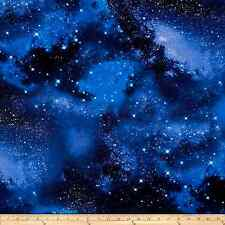 Timeless Treasures Space Galaxy Fabric Craft Sewing Decor Star Set Cotton Print