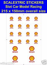 Slot car / Scalextric stickers Model Race shell Logo 2 Lego self adhesive vinyl