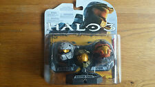Halo Helmets 3-Pack Wave 1 ROGUE MASTER CHIEF CQB helmets 2009 UK seller