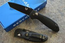 Benchmade 557BK Mini Griptilian Folding Axis Lock Knife w/ 154CM Tanto Blade