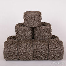 600g *BRITISH 100% ACRYLIC*DK. Brownish Grey Tweed double knitting yarn.scottish