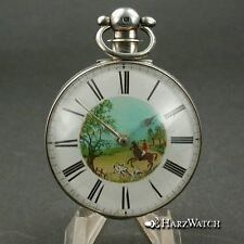 J.W.Johnson Liverpool - double Cased Silver Lepine Taschenuhr  Pocketwatch 1833