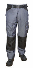 Himalayan Trade-Pro Mens Heavy Duty Work Trousers Kneepad Cargo Combat Pants