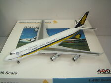 "Bigbird 400 Singapore Airlines SQ B747-300 ""Big Top"" 1:400"