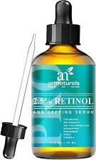 Art Naturals Enhanced Retinol Serum 2.5% with 20% Vitamin C & Hyaluronic Acid...