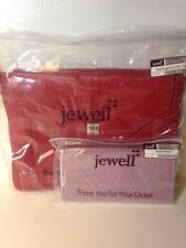 """NEW Jewell by Thirty-One Style Blogger Purse in """"Ruby Slippers"""" & Wallet NIP"""