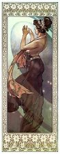 Pole Star Alphonse Alfons Mucha Art Nouveau Deco Picture Poster Print Stars NEW