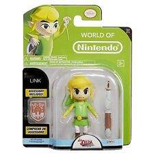 "Zelda LINK World Of Nintendo 4.5"" Figure Super Mario"
