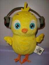 PULCINO PIO GADGET RADIO GLOBO pupazzo peluche bambola suonante soft plush toy