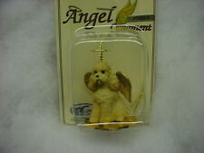 APRICOT POODLE Dog ANGEL Ornament Figurine Statue NEW Christmas sportcut puppy
