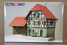 KIBRI 9517 HO SCALE OLD TIME  OSTERHEIDE COUNTRY GOODS STATION MODEL KIT ni