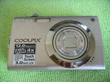 NIKON COOLPIX S4000 12.0 MEGA PIXELS DIGITAL CAMERA SILVER