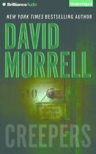 CREEPERS unabridged audio book on CD by DAVID MORRELL
