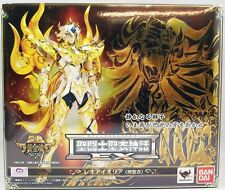 SAINT SEIYA MYTH CLOTH EX SOUL OF GOLD LEO AIOLIA GOLD CLOTH BANDAI