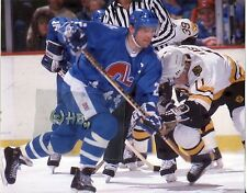 PETER STASTNY Quebec Nordiques HOF in action Photo 1988 (c)