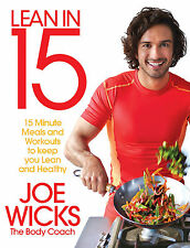 Lean in 15 by Joe Wicks The Body Coach Meals Workouts Lean and Healthy Book