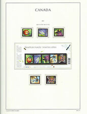 CANADA 2007 LIGHTHOUSE  page 2007.10 - BENEFICIAL INSECTS   - MNH