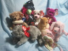 Lot of 8 Ty Beanie Babies All with Tags Allura Cupid Beani Millenium Sonnet MORE
