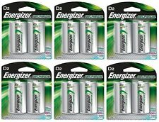 Energizer NH50BP-2 Rechargeable D Nimh Batteries (6 Packs of 2 = 12 Batteries)