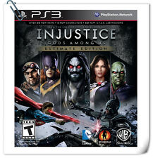 PS3 INJUSTICE: GODS AMONG US ULTIMATE EDITION Sony PlayStation Warner Home Video