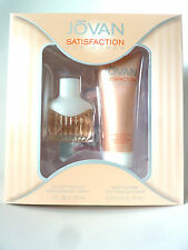 Jovan Statisfaction for women 30 ml EdT, 75 Lotion Geschenkset