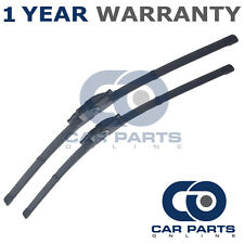 "FOR VAUXHALL OPEL ZAFIRA 1999-05 DIRECT FIT FRONT AERO WIPER BLADES PAIR 24"" 22"""