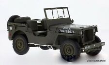 Willys Jeep matt-oliv U.S. Army offen  1:18 Welly