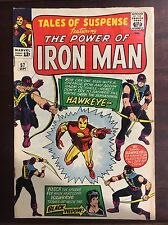 TALES OF SUSPENSE #57 FIRST APP HAWKEYE SILVER AGE CLASSIC! FN++(VG?)