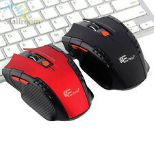 Tragbare 2,4G Mini Maus Wireless Optical Gaming Mäuse USB Laptop PC Funkmaus DE
