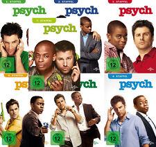 Psych - Die komplette 1. - 7. Staffel                                | DVD | 242