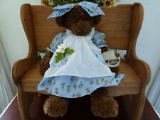 "Ganz Cottage Collectible ""DAISY"" Bear: Item CC246 21 inch Artist Carol E Kirby"