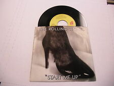 Rolling Stones Start Me Up/No Use In Crying 45 Rolling Stone Records 1981 EX