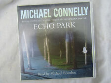 AUDIO BOOK MICHAEL CONNELLY ECHO PARK x 4 cd's