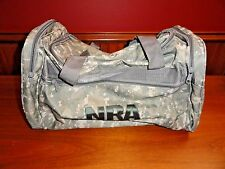 BRAND NEW NRA Digital Camo Hunting and Range Equipment Gear Duffel Bag, Pristine